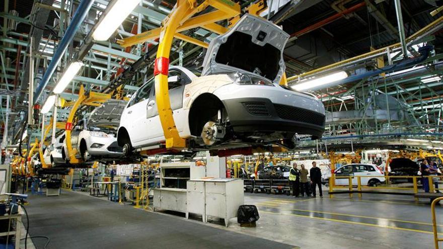 La producción industrial baja un 1,7 % en marzo tras cuatro meses de subidas