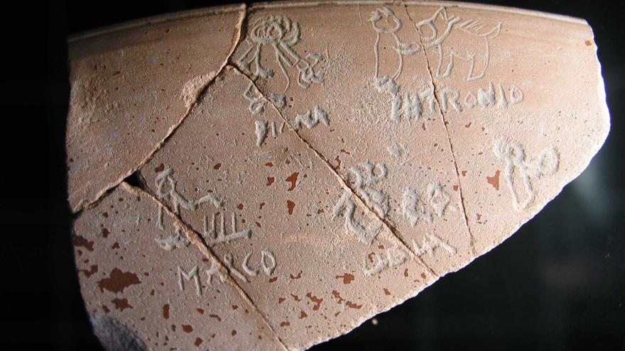 Otra pieza sospechosa de falsificación de Iruña-Veleia