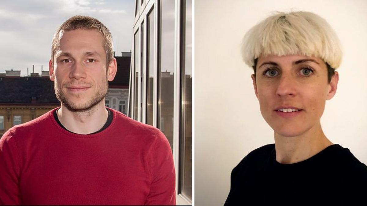 Justin Kadi y Sarah Kumnig, investigadores austriacos especializados en vivienda