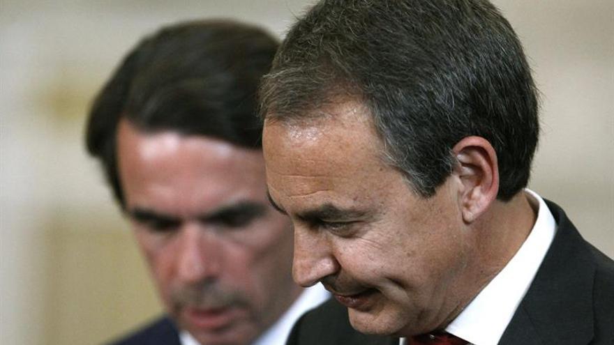 Aznar y Zapatero no comparecerán en el Congreso para hablar de la crisis