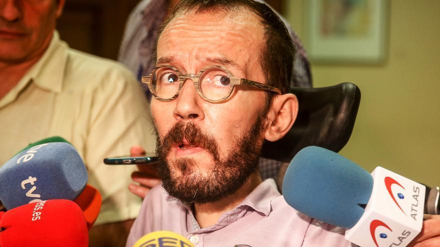 """Echenique dice que el PSOE no encontrará """"grietas"""" en Unidas Podemos durante las negociaciones para formar Gobierno"""