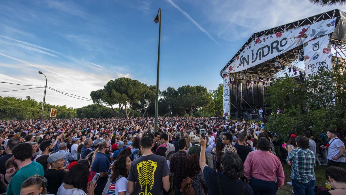 Conciertos en la pradera de San Isidro durante las fiestas de 2019
