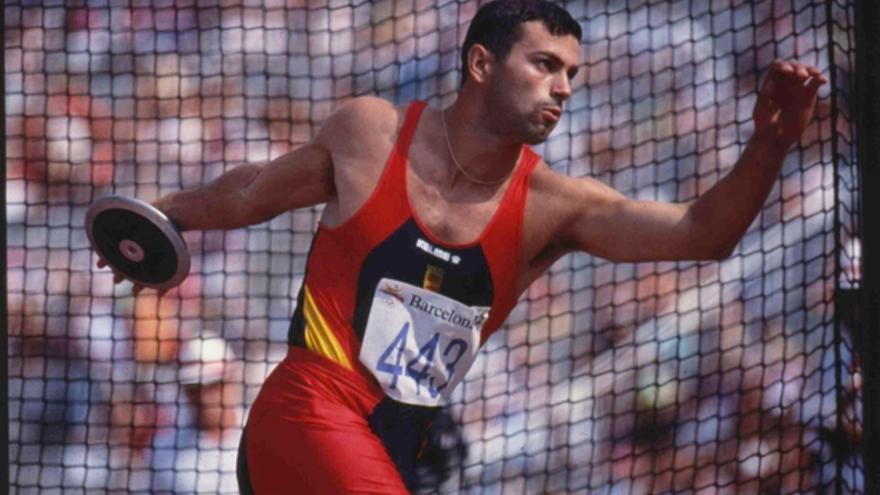 El subcampeón olímpico de decatlón en Barcelona 1992, Antonio Peñalver.