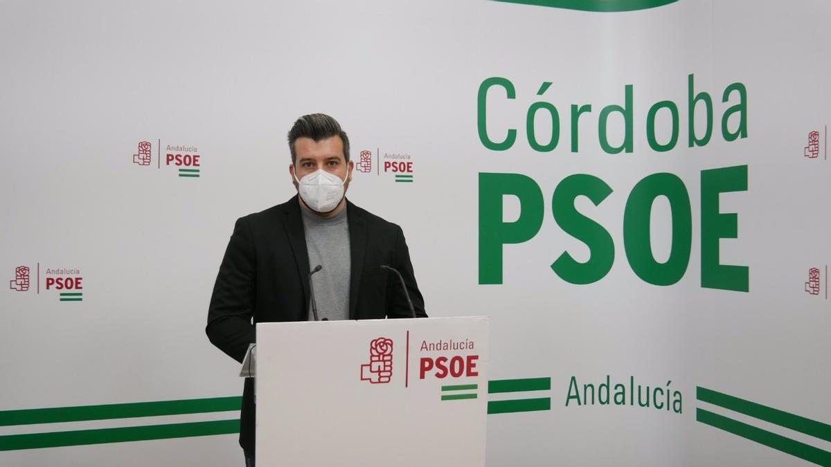 El secretario de Redes Sociales e Innovación Tecnológica del PSOE de Córdoba y alcalde de Palenciana, Gonzalo Ariza.