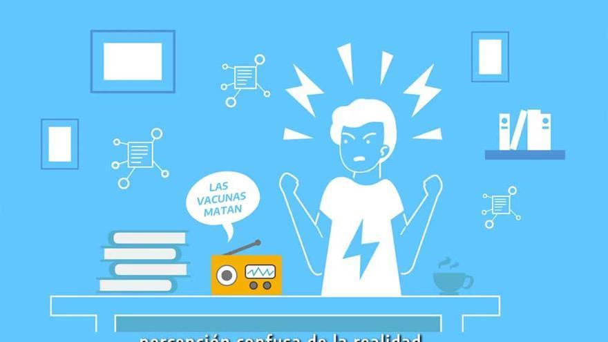 Los medios públicos estrenaron un spot animado para alertar sobre la infodemia