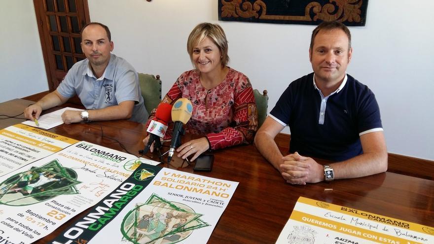 Camargo celebra este fin de semana el V Maratón Solidario de Balonmano a beneficio de la Plataforma de Alimentos