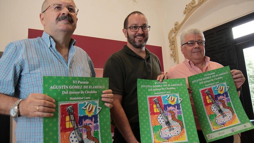 El Ateneo de Córdoba convoca con el apoyo del Ayuntamiento sus premios anuales de poesía, flamenco y relatos