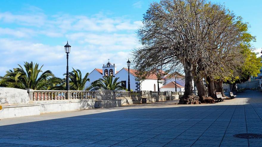 En la imagen, Plaza de Baltasar Martín.
