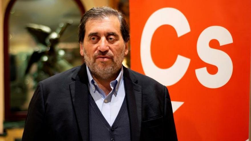 El presidente de la Comisión Gestora de Ciudadanos (Cs), Manuel García Bofill.