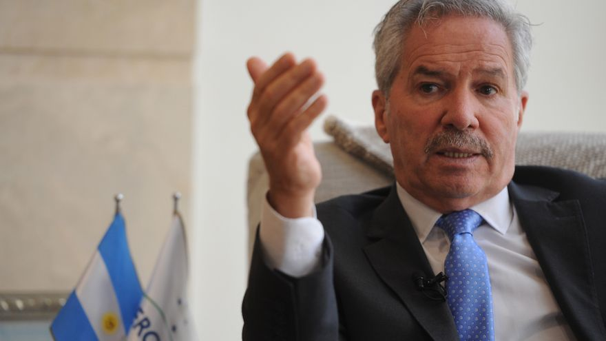 Canciller argentino recibe a Gallach Figueras tras la visita de Pedro Sánchez