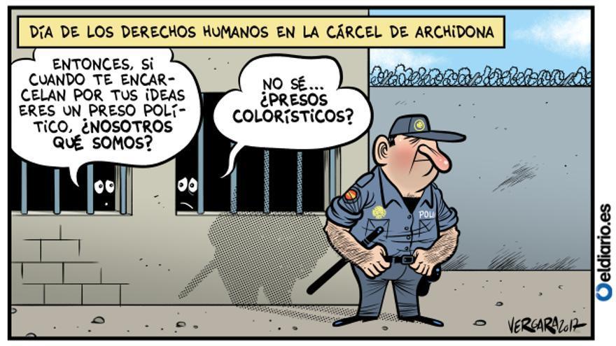 """En la """"cárcel CIE"""""""
