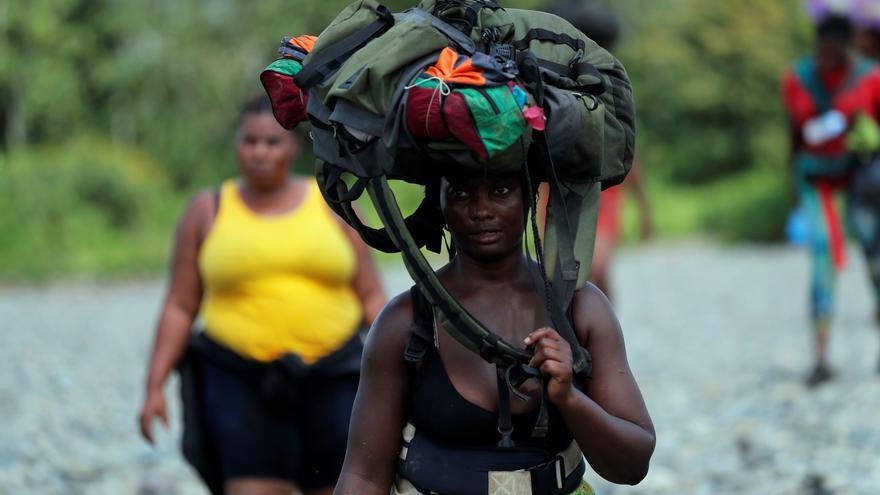 Unos 10.000 migrantes varados en la frontera colombiana en ruta a Centroamérica