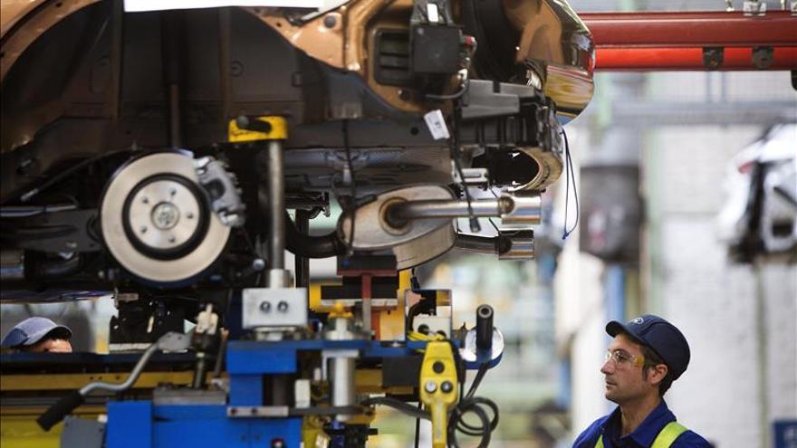 La producción industrial baja un 1,8 por ciento en la eurozona y un 1,4 % en la UE en agosto