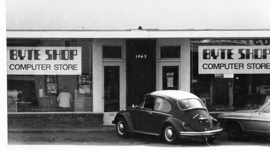 La primera Byte Shop, situada en Mountain View (California)