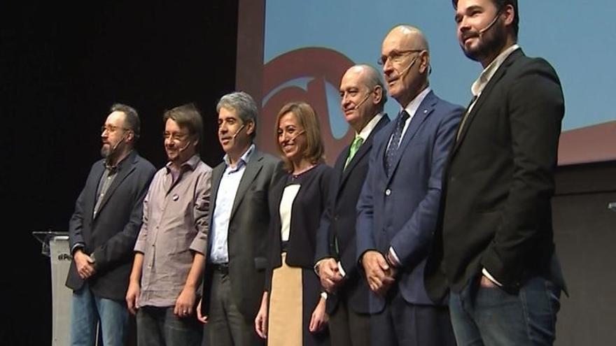 Las propuestas para superar el bloqueo en Cataluña centran la primera parte de campaña