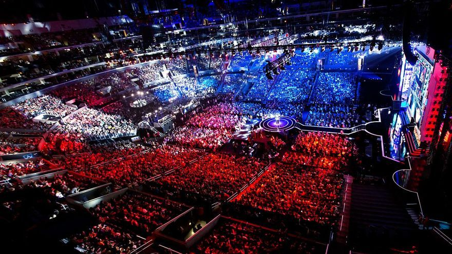 e-Sports Así de impresionante es el despliegue de medios en una final de League of Legends.