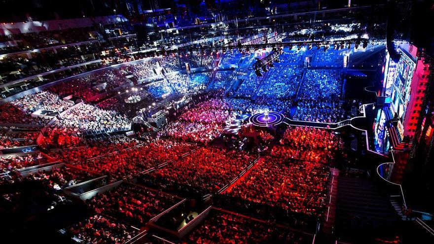 e-Sports Así de impresionante es el despliegue de medios en una final de League of Legends.