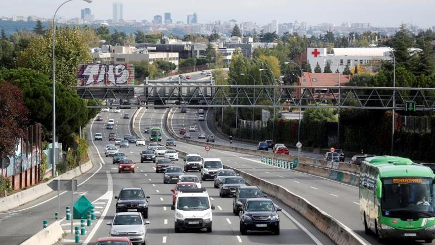 Siete fallecidos en las carreteras en el puente de Todos los Santos