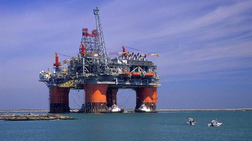El petróleo de Texas abre con un descenso del 0,92 % hasta 45,39 dólares