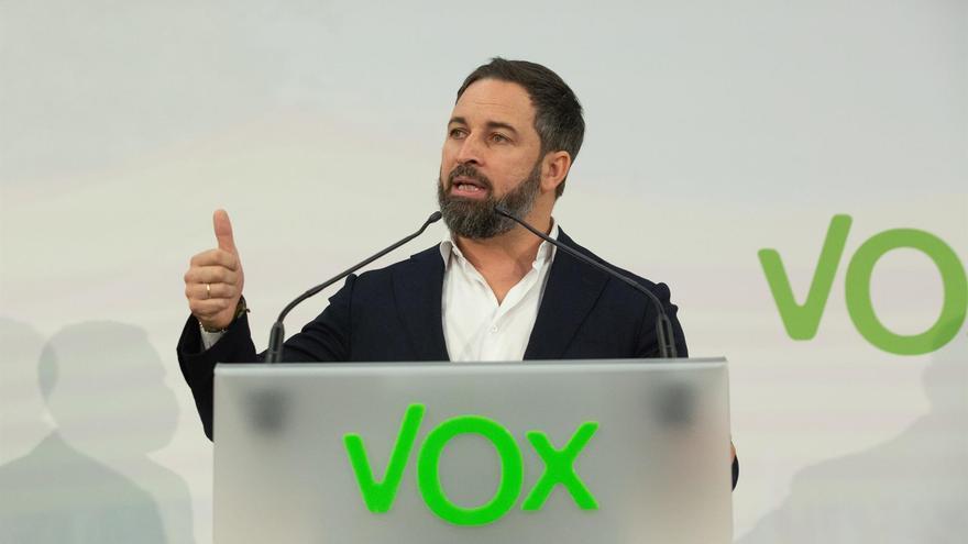 Santiago Abascal viaja este jueves a Canarias y el sábado participará en una concentración convocada por Vox en Lanzarote