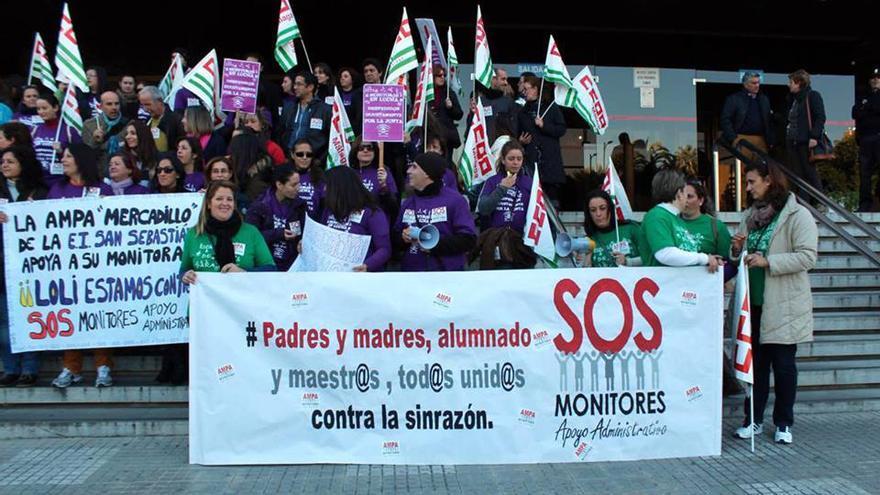 Los monitores de apoyo administrativo continuarán en cualquier caso con las movilizaciones previstas.