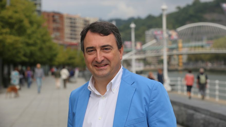 El portavoz del PNV en el Congreso y candidato por Bizkaia, Aitor Esteban.