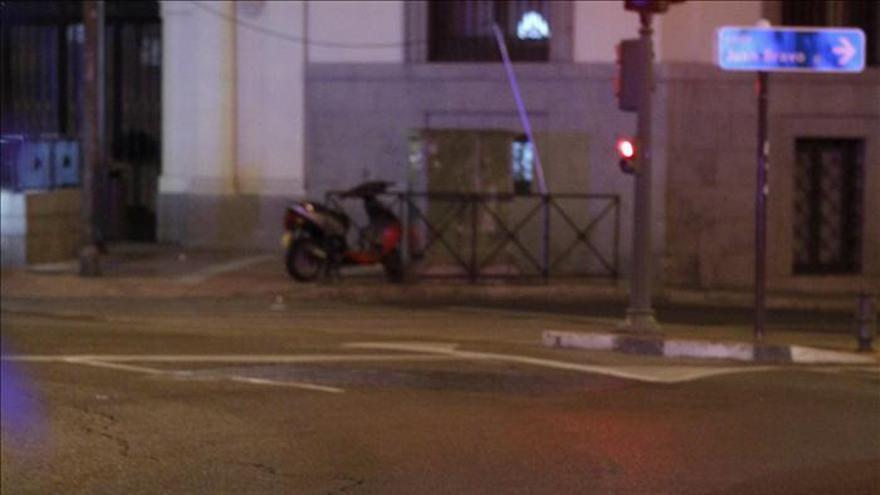 Muere un motorista en una colisión entre dos motos en Glorieta de Rubén Darío