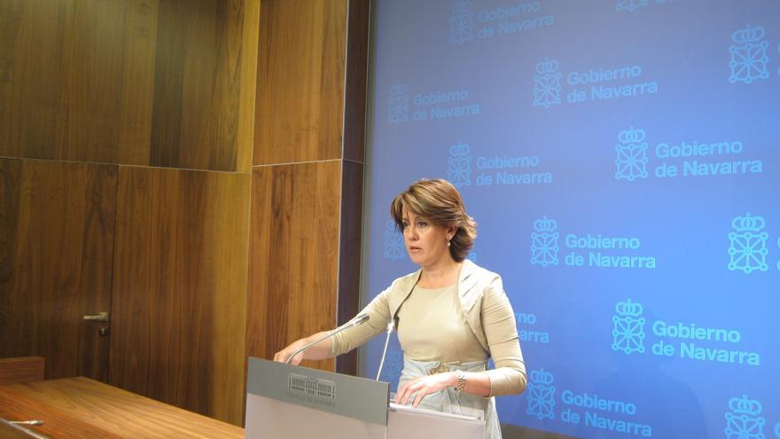 """La presidenta navarra respeta la decisión de los jueces pero dice que le """"repele"""" ver en libertad a Bolinaga"""