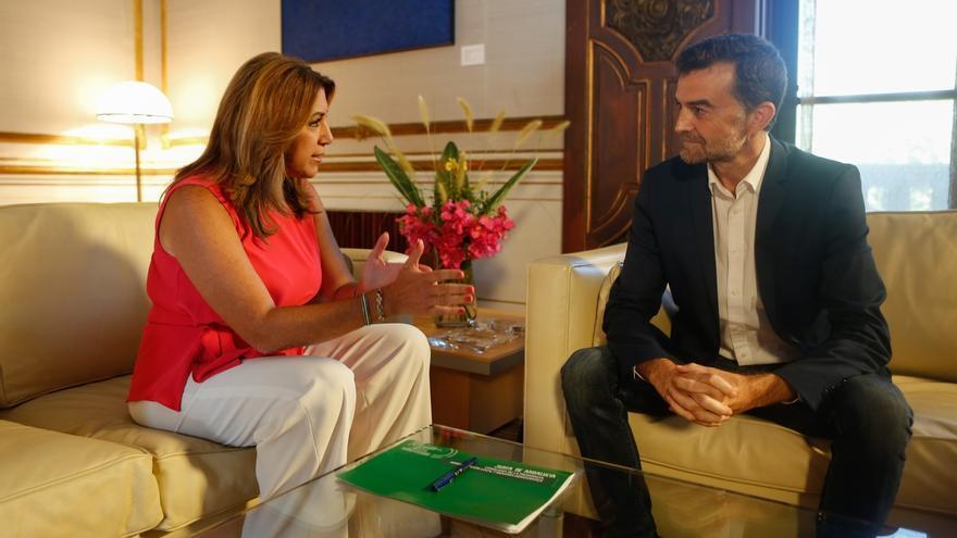 Maíllo muestra voluntad de acuerdo sobre financiación y defiende que el Parlamento lidere el debate y no Susana Díaz