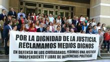 """Los presidentes de los tribunales superiores de justicia ante la huelga: """"La situación es insostenible"""""""