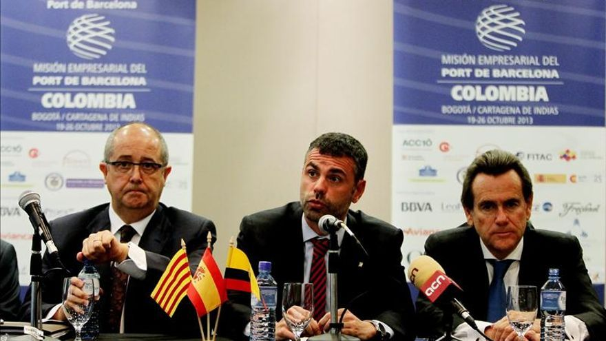El Puerto de Barcelona y más de 80 empresas catalanas inician una visita a Colombia