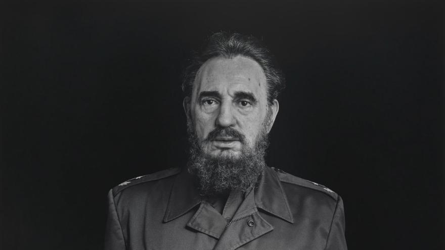 """""""Fidel Castro"""" de Hiroshi Fugimoto"""