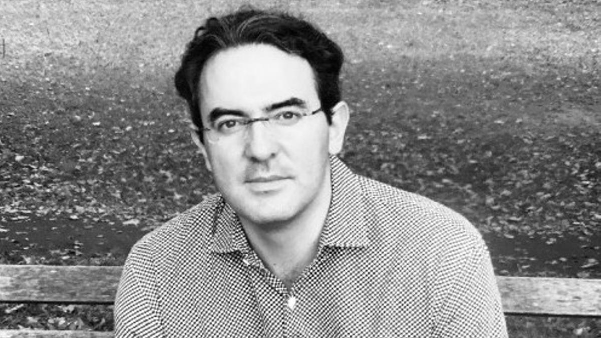 El escritor colombiano Juan Gabriel Vásquez