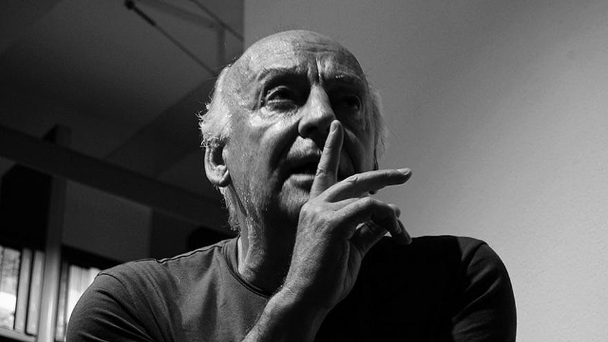 Eduardo Galeano. 2008. Italia/ Imagen: Mariela De Marchi Moyano (Flickr).