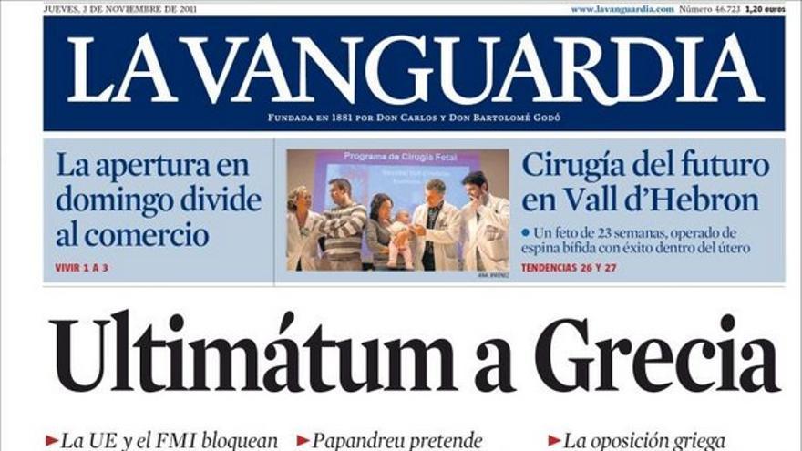 De las portadas del día (03/11/2011) #12