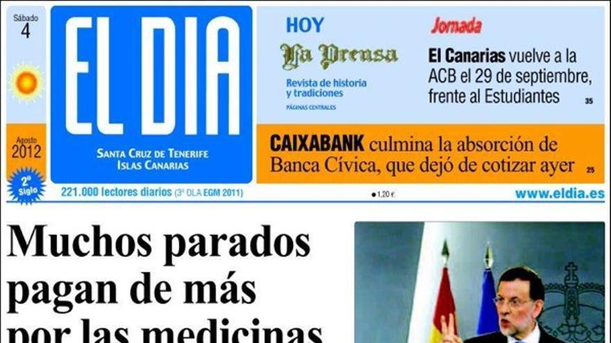 De las portadas del día (4/08/2012) #4