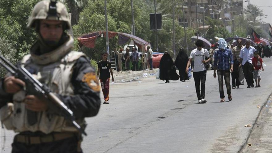 Mueren 6 milicianos chiíes en un atentado al norte de Bagdad