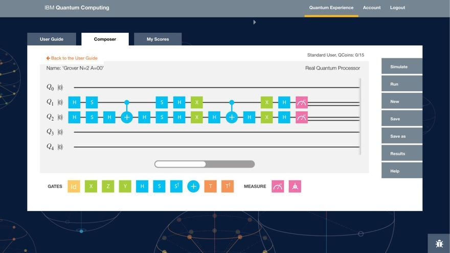 El IBM Quantum Experience