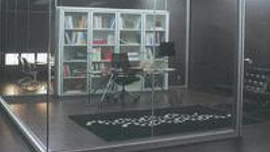Los despachos pueden quedar ideales de la muerte, según las maquetas que propone Australia Navarro.