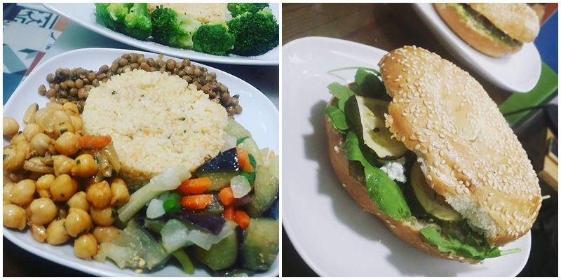 Dos de los platos de Saníssimo