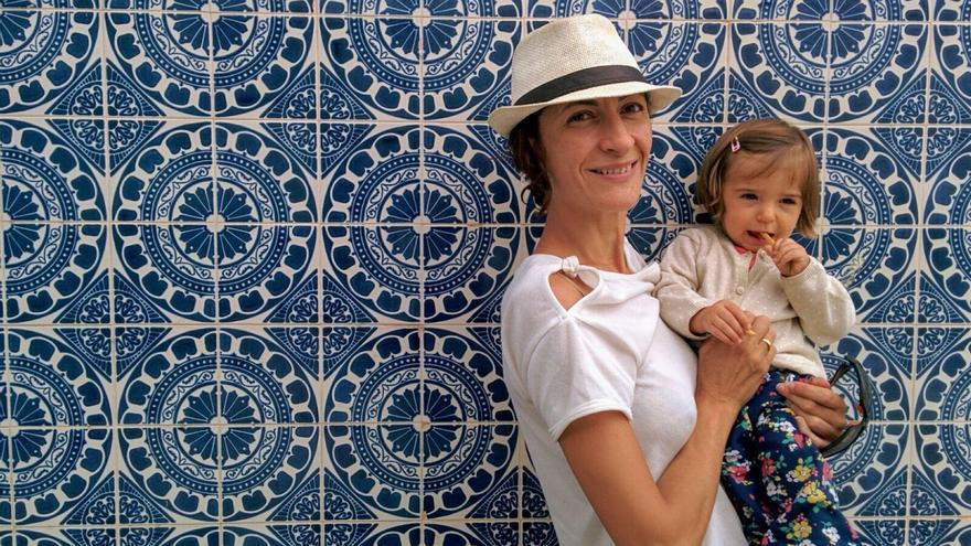 Choni fue madre a los 43, tras cinco años intentándolo / Foto cedida