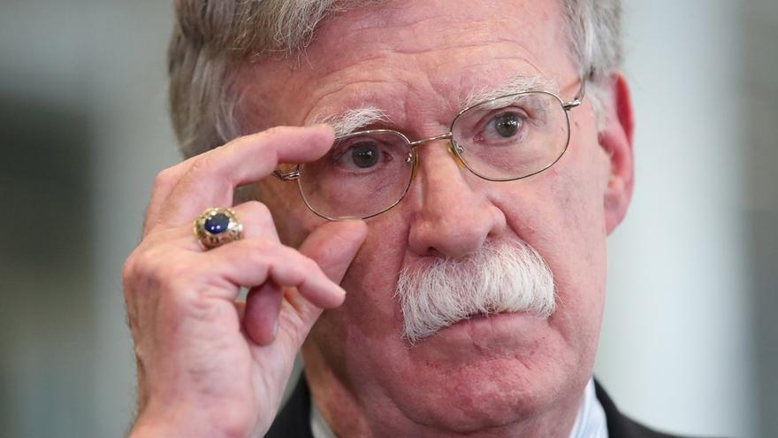 En la imagen, el exasesor de Seguridad Nacional de EE.UU. John Bolton.