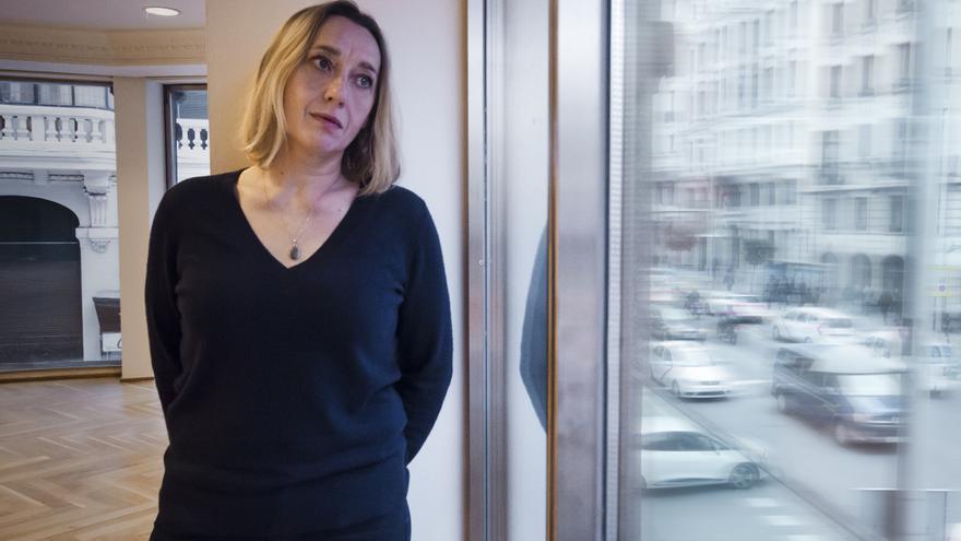 La escritora francesa Virginie Despentes