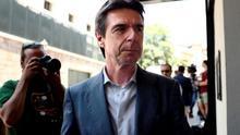 José Manuel Soria, en el congreso del PP de julio de 2018.