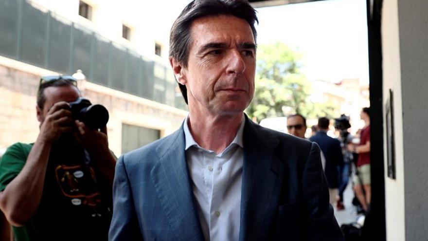 José Manuel Soria, el día antes de las votaciones en el Congreso del PP