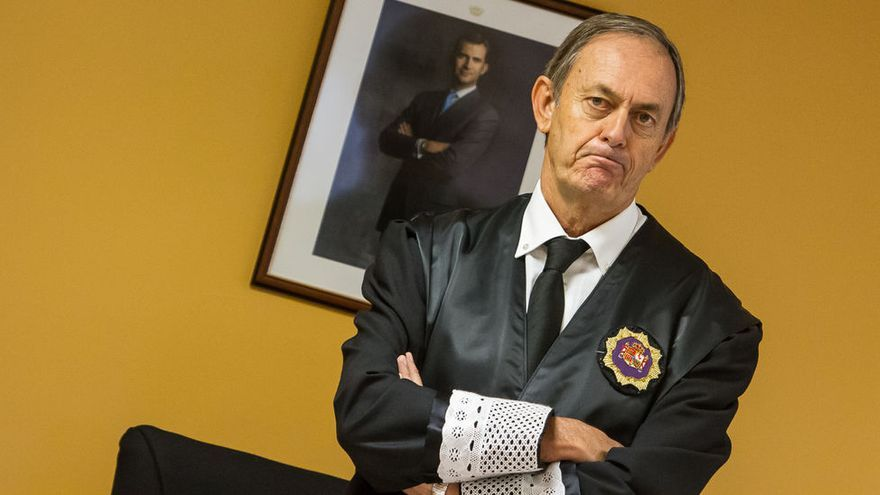 Joaquín Astor Landete, presidente de la Audiencia Provincial de Santa Cruz de Tenerife