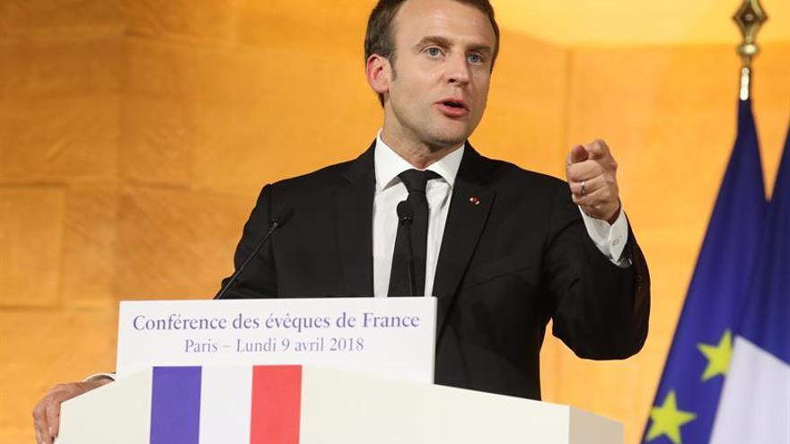 Macron dice que Francia abonará más al presupuesto de la UE si este se reforma