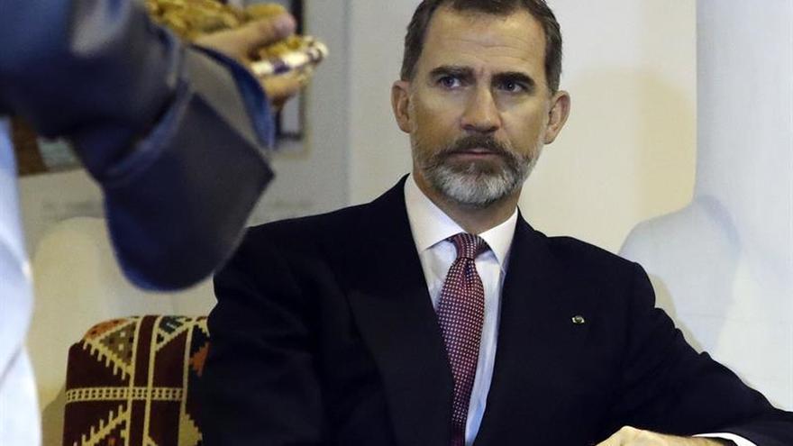 """Felipe VI advierte: """"Un país que no innova queda a merced de los demás"""""""