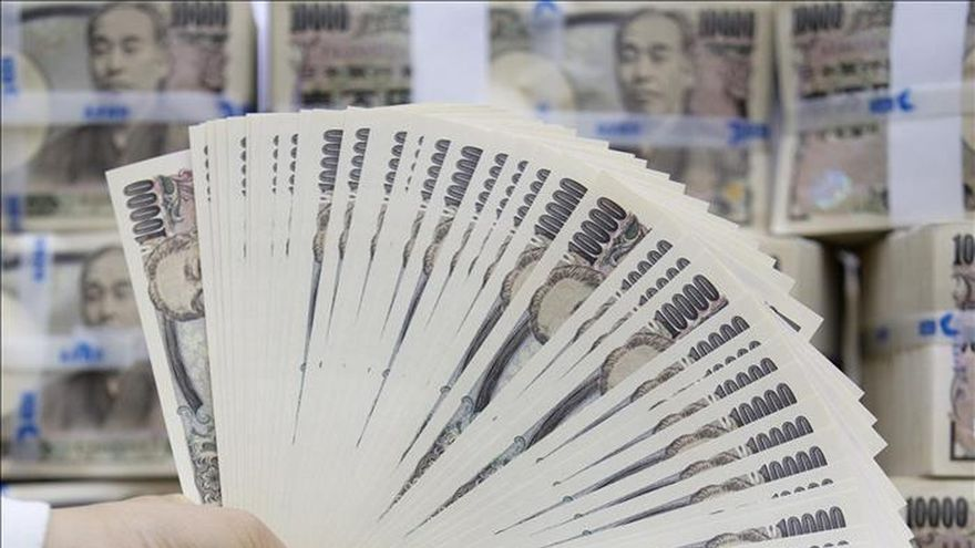 Japón incrementa su base monetaria un 35,6 % interanual en abril