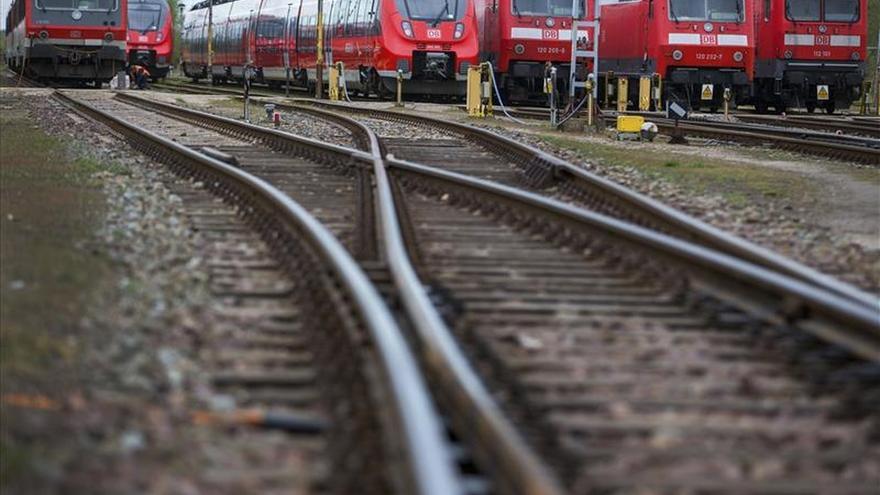 Los maquinistas alemanes convocan una huelga de seis días a partir del martes